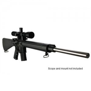 "DPMS Panther Arms Bull 24 Varmint/Target .223 Remington/5.56 NATO 30-Round 24"" Semi-Automatic Rifle in Black - 60508"