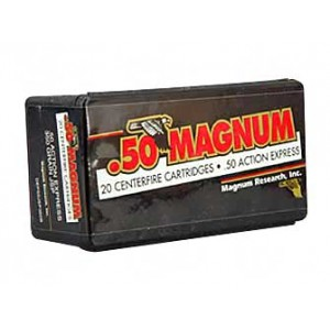 Magnum Research Blount .50 AE Jacketed Soft Point, 350 Grain (20 Rounds) - DEP50JSP350B