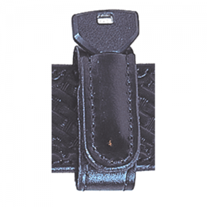 "Stallion Leather  1"" Wide Belt Keeper in Black - BKKS-1-B4"