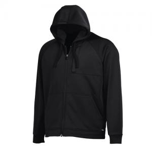 Dickies Tactical Fleece Men's Full Zip Hoodie in Black - Medium