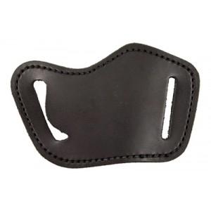Desantis Gunhide 119 Simple Slide Right-Hand Belt Holster for Medium/Large Autos/Revolver in Black Leather - 119BAG2Z0