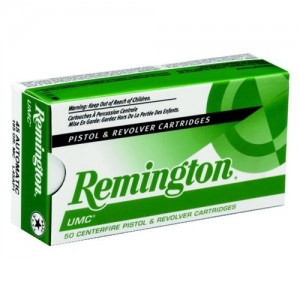 Remington UMC .40 S&W Metal Case, 165 Grain (50 Rounds) - L40SW4