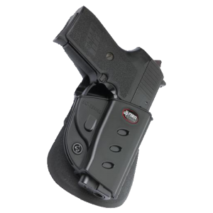 "Fobus USA Evolution Right-Hand Paddle Holster for Sig Sauer P239 in Black (3.6"") - SG23940"