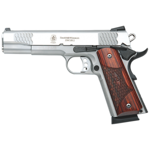 "Smith & Wesson 1911 .45 ACP 8+1 5"" 1911 in Stainless Steel (E Series) - 108482"