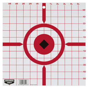 """World Of Target 37210 Rigid Paper Target Sight-In 12"""" 10 Pack"""