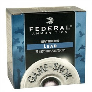 "Federal Cartridge Game-Shok Game Loads .16 Gauge (2.75"") 8 Shot Lead (250-Rounds) - H1608"