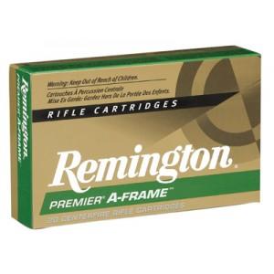 Remington Premier .300 Remington Ultra Magnum A-Frame Pointed Soft Point, 180 Grain (20 Rounds) - RS300UM1