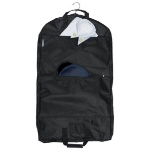 Strong Leather Garment Bag Garment Bag in Black - 93000-0002