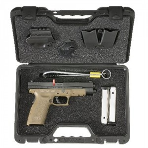 "Springfield XD .45 ACP 13+1 5"" Pistol in Black Slide/Dark Earth Frame - XD9162HCSP06"