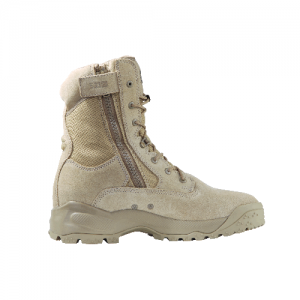 ATAC 8  Coyote Boot with Side Zip Color: Coyote Shoe Size (US): 8 Width: Wide