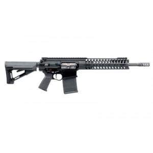 """Patriot Ordnance Factory P308 M-Rail MRR .308 Winchester/7.62 NATO 20-Round 14.5"""" Semi-Automatic Rifle in Black - 424"""