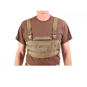 AO Chest Rig Color: Coyote Brown