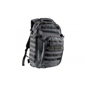 5.11 Tactical All Hazards Backpack in Double Tap Black 1050D Nylon - 56997