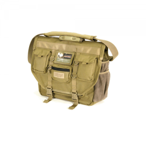 Advanced Tactical Briefcase  Advanced Tactical Brief Black Use this case during Ops or civilian travel.  Unique functional design includes these great features: 1000 denier nylon with waterproof lining 2 hook and loop patches (inside and out) and movable