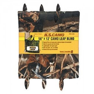 """Hunters Specialties Max4 Camo 56"""" X 12' Leaf Blind Material 04092"""