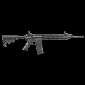"""Ruger SR 556 E-Model .223 Remington/5.56 NATO 30-Round 16.12"""" Semi-Automatic Rifle in Black - 5912"""