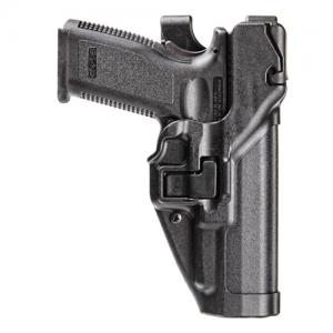 "Blackhawk Level 3 Serpa Left-Hand Thigh Holster for Beretta 92 in Black (5"") - 430604BK-L"