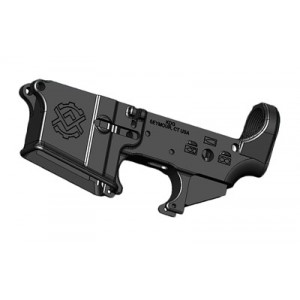 Kinetic Development Group, Llc Kdg5, Semi-automatic, Stripped Lower, 223 Rem/556nato, Black Type 3 Hardcoat Anodized, Flared Machined Magwell, Upper Tension Set Screw Location, Hk Style Safety Selector Markings Kdg5