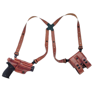 Galco International Miami Classic Right-Hand Shoulder Holster for Glock 20, 21 in Tan (Adjustable) - MC228