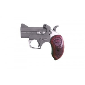 "Bond Arms Brown Bear .45 Long Colt 2-Shot 3"" Derringer in Stainless (*CA Compliant*) - BABRWNBEAR45"