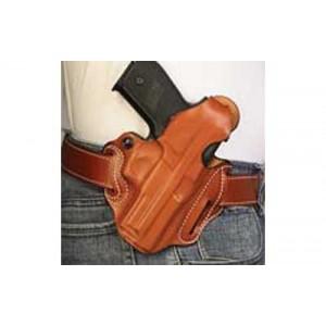 """Desantis Gunhide 1 Thumb Break Scabbard Right-Hand Belt Holster for FN Herstal FNX 40 in Black Leather (4"""") - 001BA30Z0"""