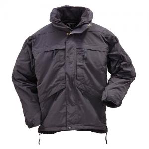 5.11 Tactical 3-in-1 Men's Full Zip Jacket in Black - X-Small
