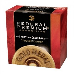 "Federal Cartridge Gold Medal Sporting Clays .12 Gauge (2.75"") 8 Shot Lead (25-Rounds) - SC1798"