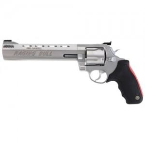 "Taurus 454 .454 Casull 5-Shot 8.37"" Revolver in Matte Stainless (Raging Bull) - 2454089M"