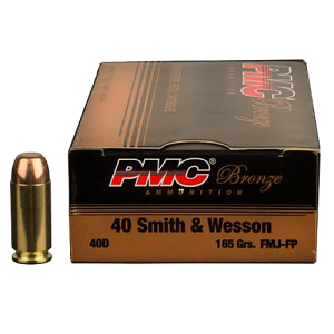 PMC Ammunition Battle Pack .40 S&W Full Metal Jacket, 165 Grain (300 Rounds) - 40DBP