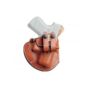 Desantis Gunhide 28 Cozy Right-Hand IWB Holster for Glock 43 in Tan Leather - 028TA8BZ0