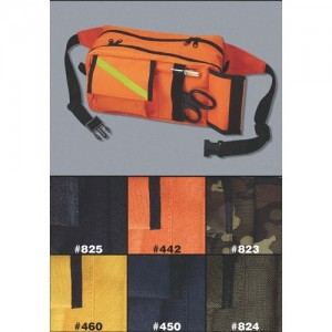 EMI Fanny Pack Waist Bag in Orange - 442