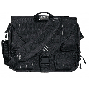 Goutdoor T1350BCB Tactical Briefcase 1000D Nylon w/Teflon Coating Black