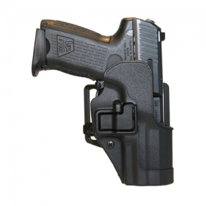 """Blackhawk CQC Serpa Left-Hand Multi Holster for Smith & Wesson 5900/4000 Series in Black (4"""") - 410510BK-L"""