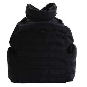 TacProGear Tactical Vest in Nylon Black - X-Large