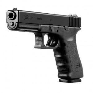 """Glock 17 9mm 17+1 4.49"""" Pistol in Gas Nitride (Gen 4) - UG1750503"""