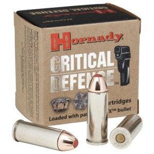 Hornady Critical Defense .40 S&W Critical Defense, 165 Grain (20 Rounds) - 91340