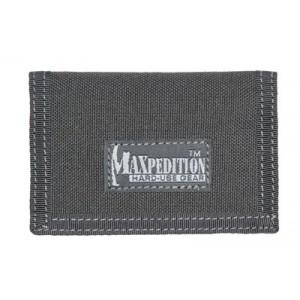 "Maxpedition Micro Wallet, Soft, 4.5""x3"", Id Window, 2 Internal Card Compartment, 1 External Slip Compartment, Black Finish 0218b"