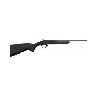 "Traditions Compact Black .22 Long Rifle 16.5"" Break Open Rifle in Blued - CRY220070"