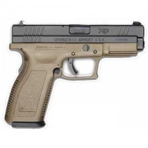 "Springfield XD 9mm 16+1 5"" Pistol in Black Slide/Dark Earth Frame - XD9131HCSP06"