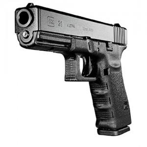 """Glock 20SF 10mm 15+1 4.6"""" Pistol in Black (Gen 3) - PF2050203"""
