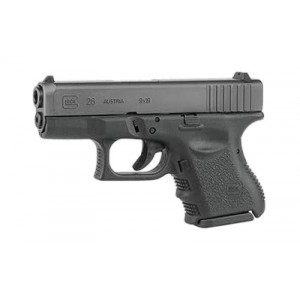 "Glock 26 9mm 10+1 3.46"" Pistol in Fired Case/Matte (Gen 3) - PN2650701H"