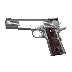 """Dan Wesson Pointman .38 Super 9-Round 4.25"""" 1911 in Stainless Steel - 01842"""