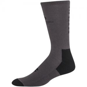 UA Freedom II Crew Socks 2 Pack Color: Steel/Black Size: Large