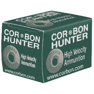 Corbon Ammunition Hunter .454 Casull Hard Cast Flat Nose, 335 Grain (20 Rounds) - HT454335HC