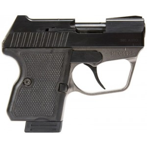 "Magnum Research Micro Desert Eagle .380 ACP 6+1 2.22"" Pistol in Nickel/Blued - ME380NB"
