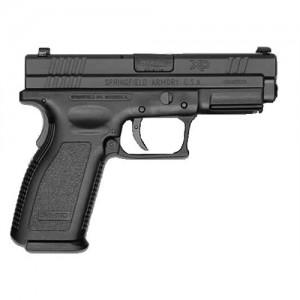 "Springfield XD .45 ACP 13+1 4"" Pistol in Black/Stainless Steel - XD9663HCSP"