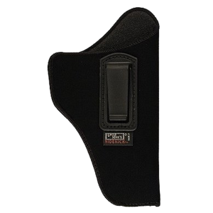 """Uncle Mike's I-T-P Right-Hand IWB Holster for Medium/Intermediate Double Action Revolvers in Black (4"""") - 7602"""