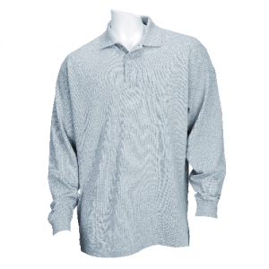 5.11 Tactical Professional Men's Long Sleeve Polo in Heather Grey - Medium