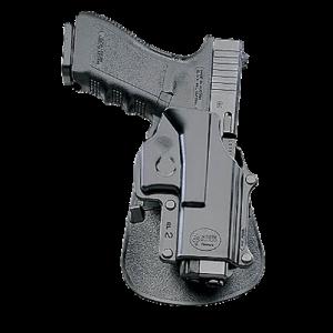 Fobus GL2LH Standard Paddle Glock 17/19/22/23/31/32/34/35 Plastic Black - GL2LH