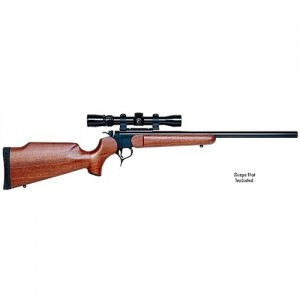 """Thompson Center G2 Contender .204 Ruger 23"""" Single Shot Rifle in Stainless Steel - 1308"""